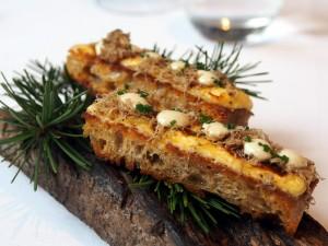 Saint-Nectaire Truffle Toast