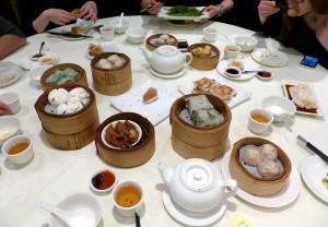 Dim Sum dishes at the table | Royal China Queensway