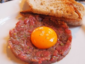 Steak Tartare at Plum & Spilt Milk | Yvanne Teo