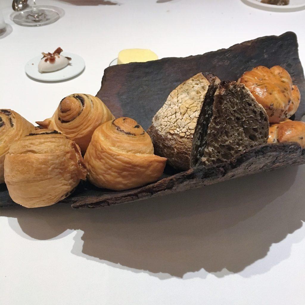 Bread selection | Odette Singapore