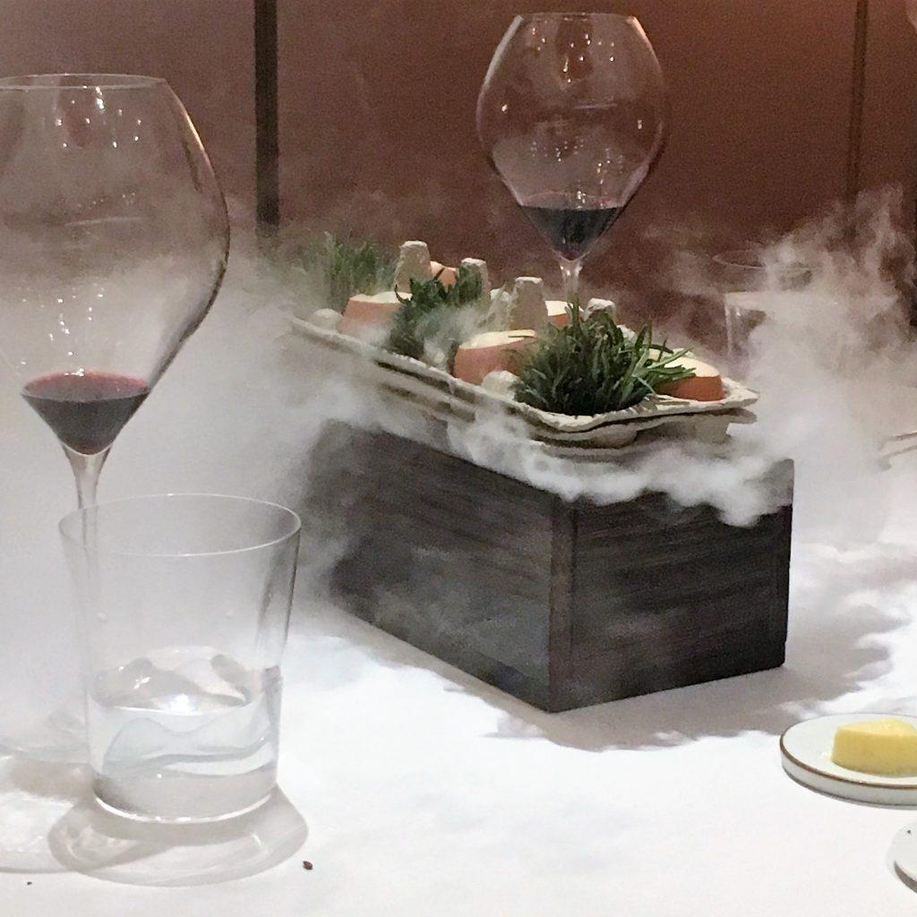 Rosemary Smoked Organic Egg | Odette Singapore